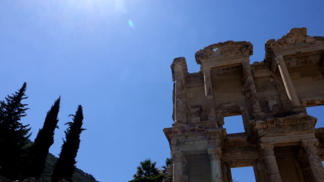 Library of Celsus in Ephesus Ancient City video