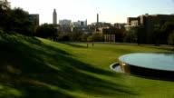 LBJ Library Water Fountain In Austin Texas video
