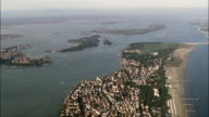 Lido to Venice - Aerial View - Veneto, Venice, Italy video