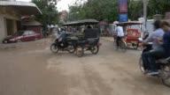 SIEM REAP, CAMBODIA - NOV 2015: Life on streets of Cambodia video