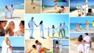 Lifestyle Montage of People Enjoying Outdoor Activities video
