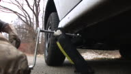 HD: Lifting Up The Broken-Down Car video
