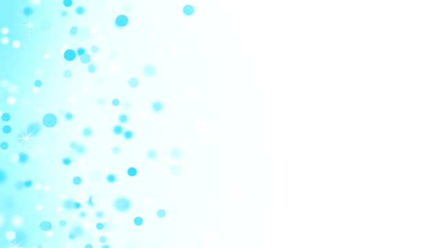 light blue circles loopable abstract background video