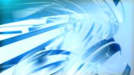 Light blue glass background video