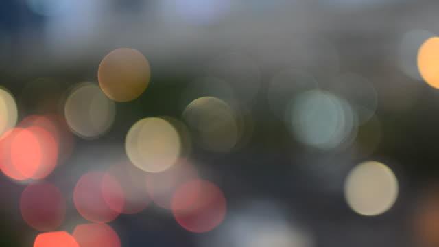 Light circle background video