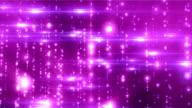 Light Glitters Purple M Loopable Background video