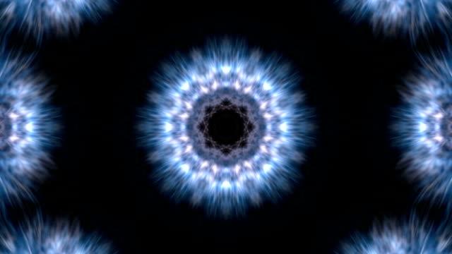 Light kaleidoscope video