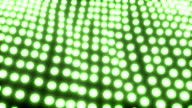 Light ocean grid flow pattern abstract background green video