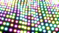 Light ocean grid flow pattern abstract background multicolored video