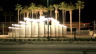 Light Poles Time Lapse video