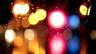 Light Reflection, City, Lights, Rain video