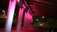 Light Show Under Bridge video