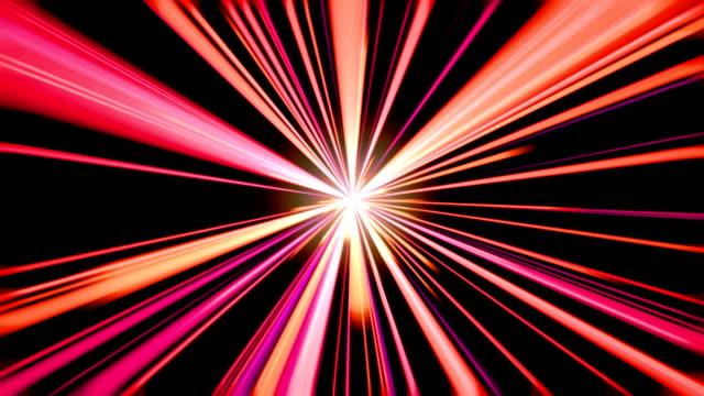 Light streaks video