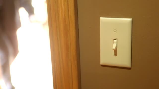 light switch. video