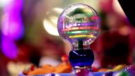 Light toy ball. video