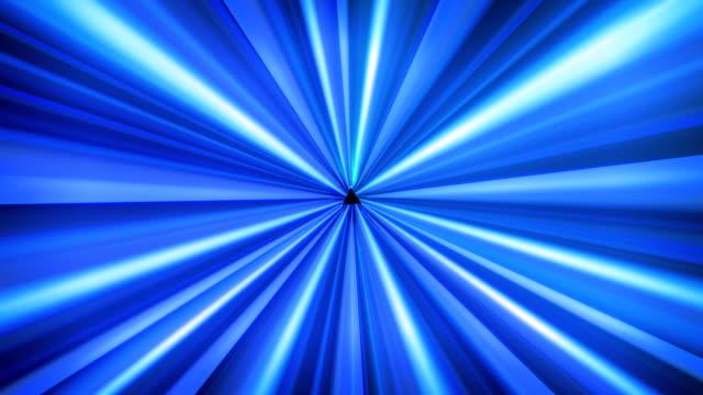 Light tunnel Blue video
