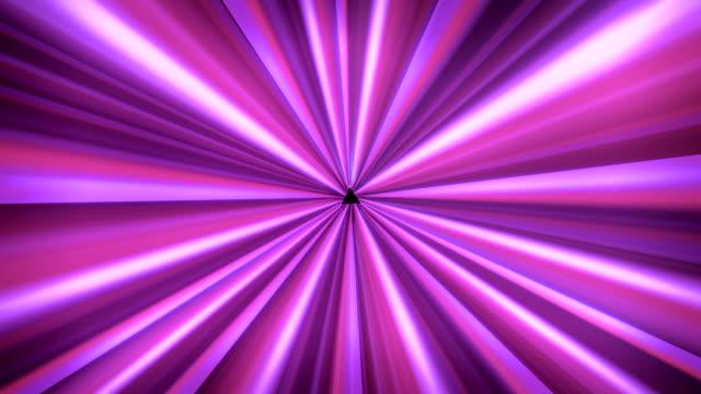 Light tunnel Purple video