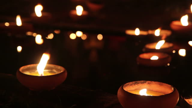 Lighted Candles video