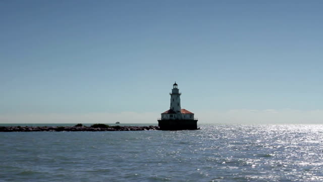 Lighthouse at Sea video