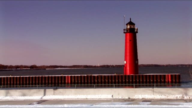 Lighthouse on the pier video