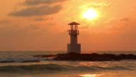 Lighthouse Sunset video