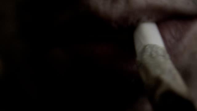 lighting up a 'roach' video