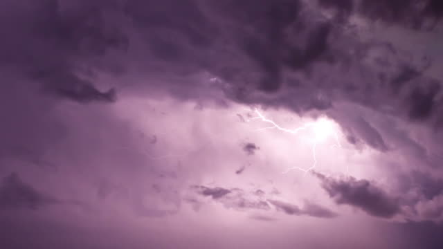 Lightning In Clouds video
