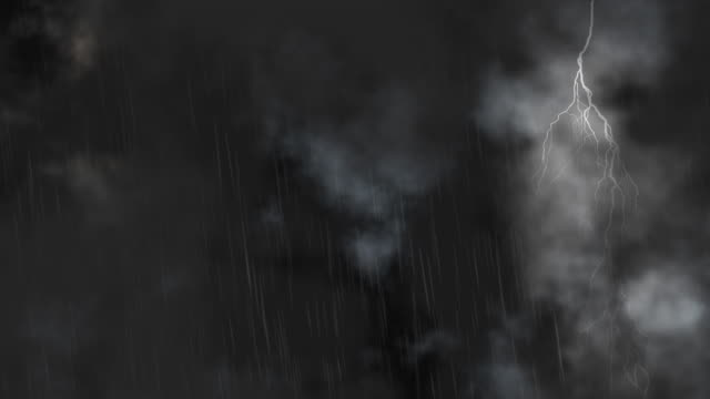 Lightning Storm Clouds loop - HD, NTSC, PAL video