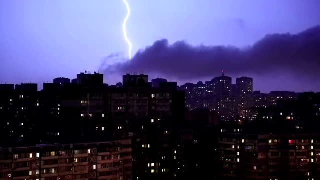 Lightning video