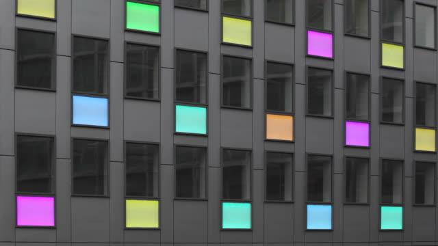 Lights Led Building video