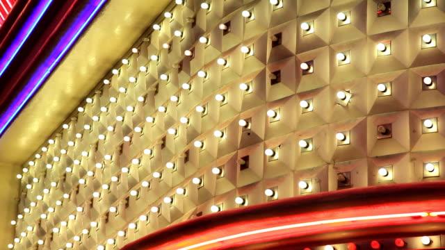 Lights of Las Vegas Casino in HD video