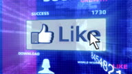 Like Button In The Digital World video