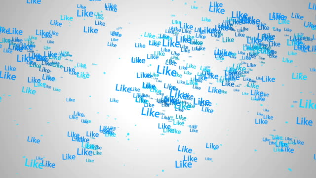 Like Particles World Map Blue Looping Animation video