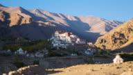 Likir Buddhist Monastery at Leh Ladakh, Northern India video