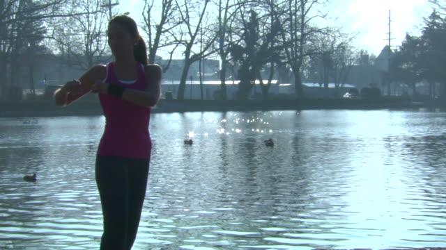 Liliana's Stretch 3 - Wide Shot video