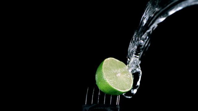 Lime Splashing video