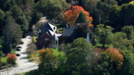 Lincoln  - Aerial View - Massachusetts,  Middlesex County,  United States video