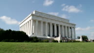 Lincoln Memorial at the Mall, Washington DC timelapse video