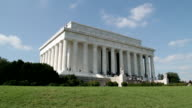 Lincoln Memorial at the Mall, Washington DC video