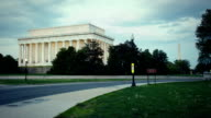 Lincoln Memorial Time Lapse video