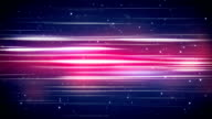 lines and particles abstract loopable background video