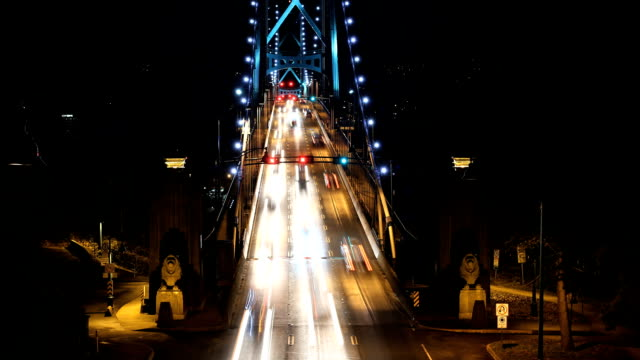Lions Gate Morning Rush Hour, Vancouver video