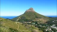 Lion's Head  - Aerial View - Western Cape,  City of Cape Town,  South Africa video