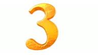 Liquid Gold Numbers 0 - 9 video