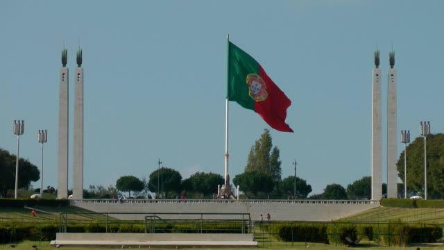 Lisbon Park Eduardo VII video