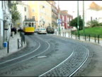 Lisbon Portugal Cable Trolly Car 2 video