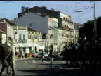 Lisbon Portugal Military Guard in Formation on Horses 2 video