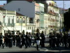 Lisbon Portugal Military Guard in Formation on Horses 4 video