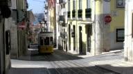 Lisbon tram video