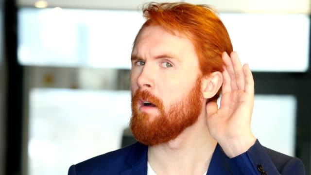 Listening Secret, Careful Businessman video